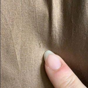 Betsey Johnson Dresses - Betsey Johnson brown silk prairie skirt dress sz 4